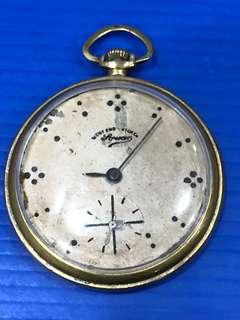 Sale Less 50% Vintage Pocket Watch West End Co. , Swiss Made ( in good working condition)