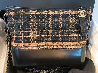 Authentic Chanel Gab Tweed in excellent condition