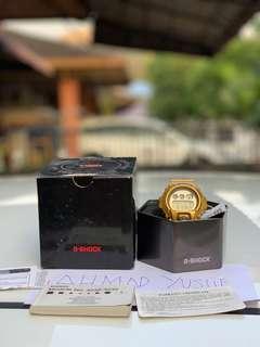 Gshock gold dw6900 gd 9