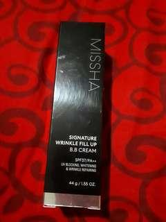 BB Crean Signature wrinkle fill up