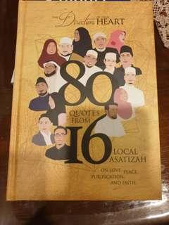 🚚 80 quotes from 16 local asatizah