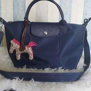 longchamp navy blue