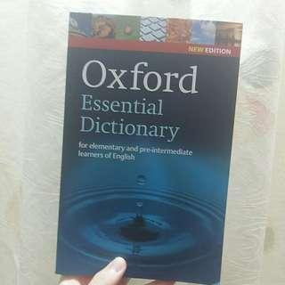 English Grammar Oxford essential dictionary