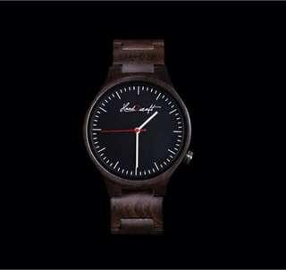 Wooden watch PLANA