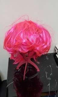 🚚 Pink wig for sale