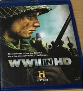 WWII In HD (blu-ray)