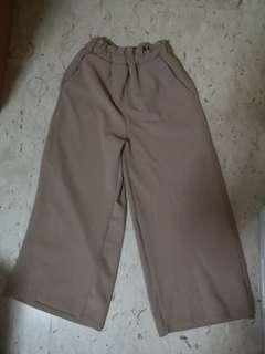 🚚 Brown Culottes with pockets
