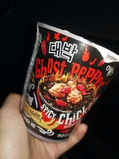 Ghost Pepper Instant Noodles