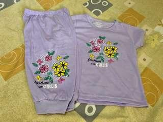 Brand new Little Girl's Pajama Set