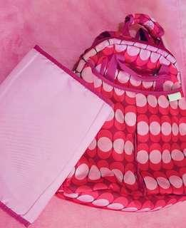 Freckles Baby Bag (backpack) with free Reversible Changing Pad