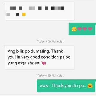 Another happy and satisfied customer. Thank you din po💓