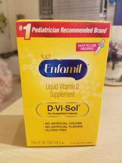 Enfamil D.Vi.Sol Liquid Vitamin D Supplement 50ml