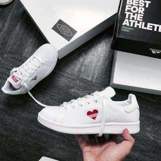 💯Ori Adidas Stan Smith Valentines