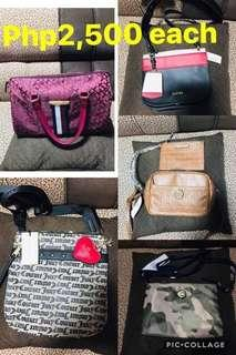 Auth branded bags from.us