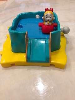 🚚 哆啦A夢 小叮鈴 平衡遊戲模型公仔