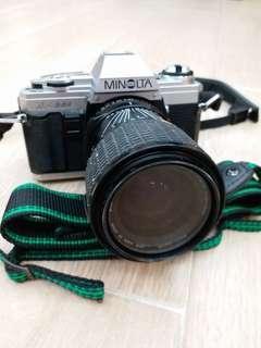 Minolta X300 + Sigma 35~70mm + Sigma 70~210mm lenses