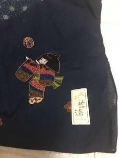 日本100%純綿方形巾