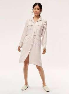 BNWT Aritzia babaton howitt dress/trench sz s