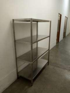 4 Tier Stainless steel Table Shelf Rack
