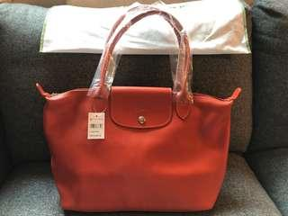 全新 Longchamp Leather Bag