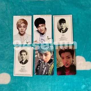 [WTS] EXO OFFICIAL PHOTOCARDS