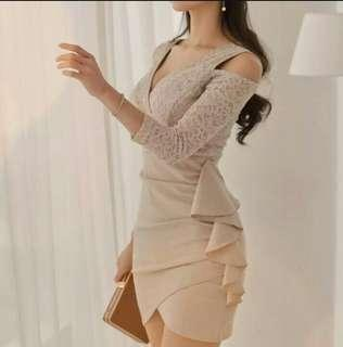 [FREE POSTAGE] Bodycon Dress #50TXT