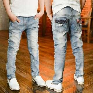 Boys Long Pants Light Blue Jeans