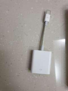 Mini dispkay port to VGA Adapter