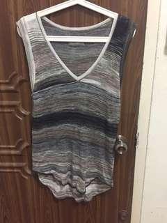 zadig et voltaire knit striped top