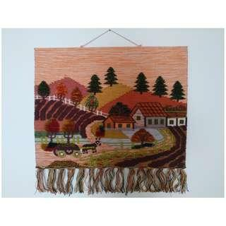 Wall Tapestry From Europer