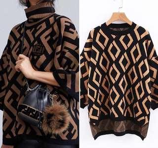 Sweater motif Fendi