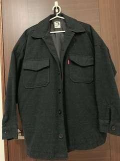 韓系外套 穿過兩次 可議價 韓國網站購入