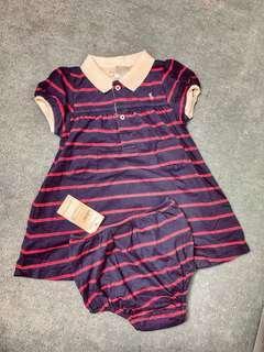 🚚 Polo Ralph Lauren 兩件式洋裝