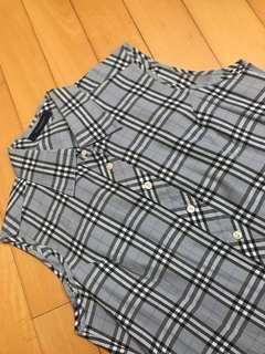 Burberry London women dress shirt size L
