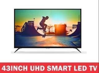 Philips 43inch Ultra 4K HD LED Smart Digital TV (Free warranty)