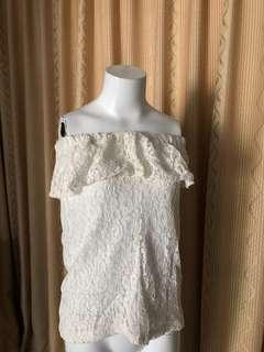 sabrina white lace