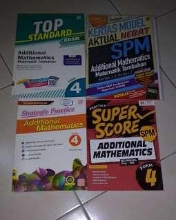 #APR10 SPM Additional Mathematics Workbook Revision Addmaths Form 4 Form 5