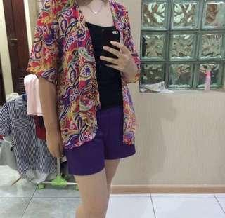 Repost! Abstract colorful cardigan #paydaymaret