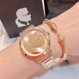 🚚 美國帶回Karl Lagerfeld老佛爺肖像金錶
