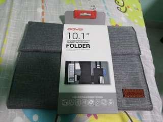 Agva 10.1 inch gadget accessory folder