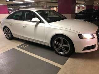 Audi A 4 for rent