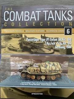 Deagostini Model Tanks - Panzerjager Tiger (P) Elefant (Sd.Kfz.184)  1.Kp./Sch.PzJg.Abt.653  Anzio (Italy) - 1944