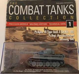 "Deagostini Model Tanks - Pz.Kpfw. VI Tiger Ausf. E (Sd.Kfz.181).  13./Pz.Regt. ""Grossdeutschland"". Neuhammer (Germany) 1945"