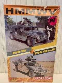 Dragon 1:72 Armor Pro - HMMWV (M1045 TOW + M1046 w/ASK) - 7296
