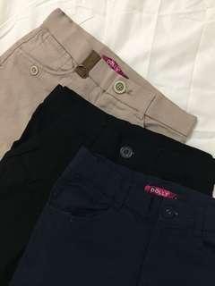 Bundle of 3 capri pants