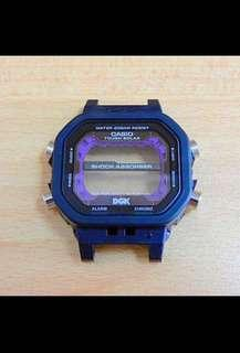 100% Authentic new sealed Casio G-Shock GX-56 DGK King Original Hard Case & Glass Assembly Set with Tough Solar Panel Limited Edition rare