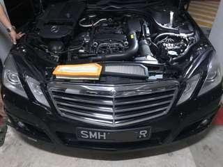 BRABUS Mercedes installed with Hurricane Filter
