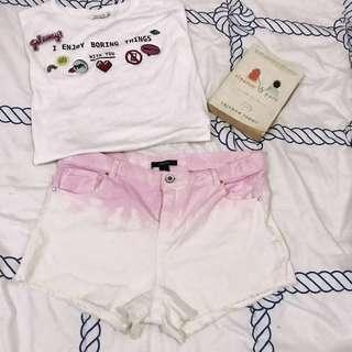 Shorts ombre [forever 21]