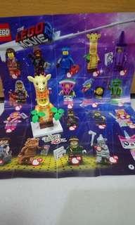 Lego Movie 2 No.4 Giraffe Guy (包平郵)