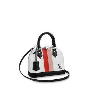 Louis Vuitton Alma Stripe